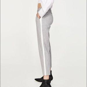 Zara Gray Dress Pants Trousers Slacks Small